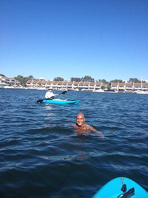Huntington Harbour, Huntington Beach, California - Huntington Harbour kayakers