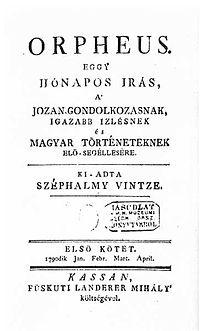 Kazinczy folyóirata az Orpheus.jpg