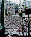 Keihan Keishin Line Keishin-Sanjo Station 19970726-1b.jpg