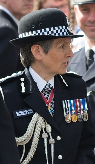 Commissioner of Police of the Metropolis - Image: Keith Palmer's funeral (006) (cropped)