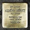Kemény Móritz stolperstein Bp06 Andrássy6.jpg