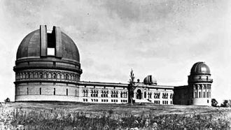 Kenwood Astrophysical Observatory - Yerkes Observatory in the old days in Williams Bay, Wisconsin
