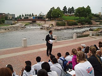 Confluence Park - EPA World Water Monitoring Day event at Confluence Park