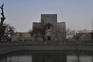 Lyab-i Hauz - Khanaka Nadir Divan-Beghi