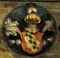 Kiedrich Pfarrkirche Hochaltar Wappen R08.jpg