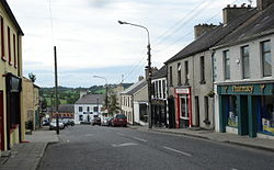 Killeshandra, Main Street looking north (2011)