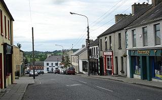 Killeshandra Village in Ulster, Ireland