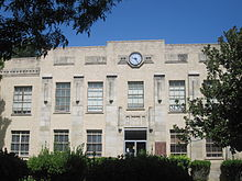 Kimble County, TX, Courthouse in Junction IMG 4334.JPG