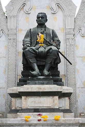 Rama III - Rama III statue a Wat Ratchanatdaram, Bangkok