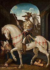 King Sapor of Persia Humiliating Emperor Valerian
