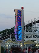 Kings Island WindSeeker Sign