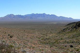 Kingston Range - Kingston Range, Mojave Desert