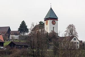 Illnau-Effretikon - Image: Kirche Illnau 2012