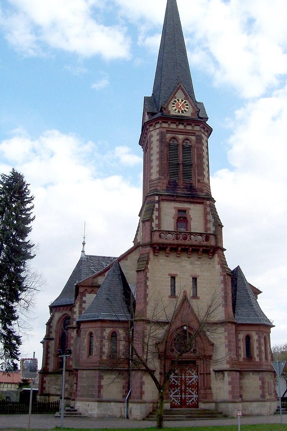 Kirche St. Matthias Stockhausen (Sondershausen)