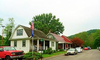 Kistler, Pennsylvania - Street in Kistler