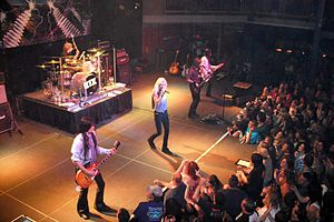 Kix (band) - Kix performing in 2009