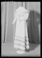 Klänning som tillhört drottning Josefina - Livrustkammaren - 61841.tif