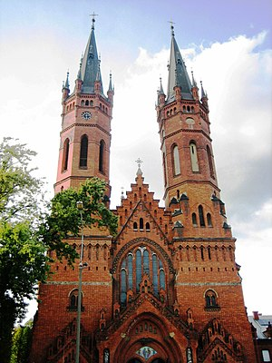 Tarnów - Gothic Revival Church of the Holy Family