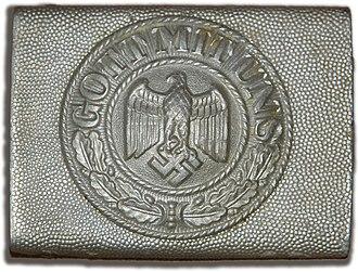 Uniforms of the Heer (1935–1945) - Army belt-buckle