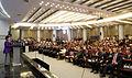 Korea President Park Tsinghua Speech 20130629 01.jpg
