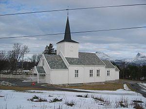 Korsnes Church - Image: Korsnes kirke 01