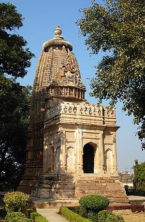 Jain temples of Khajuraho - Image: Krajuraho Adinath temple 2010