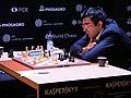 Kramnik-Məmmədyarov-Kandidatenturnier Berlin 2018 Runde 6.jpg