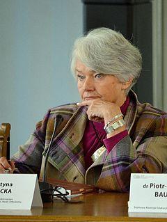Krystyna Łybacka Polish politician