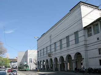Kunstmuseum Basel - Kunstmuseum's main old building and the new extension (2016)