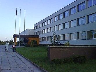 Kupiškis - Kupiškis Povilas Matulionis Middle School