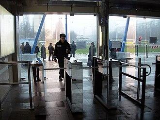 Kiev Light Rail - Image: Kyiv T2 3 Kiltseva Doroha 8
