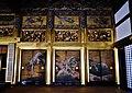 Kyoto Nishi Hongan-ji Gründerhalle Innen Schiebetüren 1.jpg