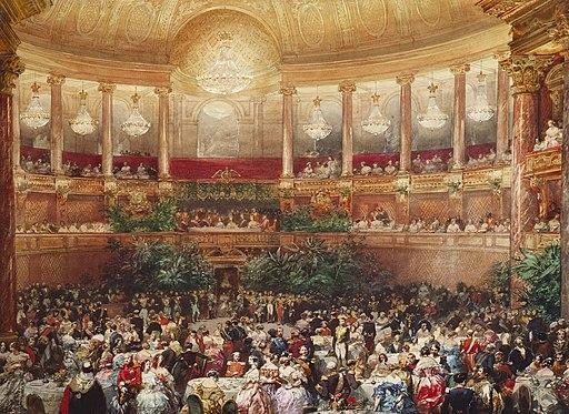L'Opéra-visite de la reine Victoria 1855