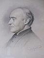L'historien et archéologue Louis Duchesne (1843-1922), dessin de Jean Coraboeuf, collection Marie-Anne Miniac..JPG