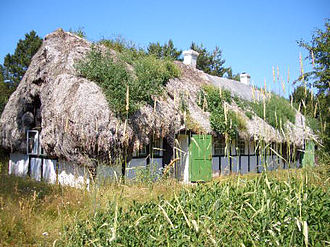 Læsø - A particular feature of Læsø is its half-timbered houses thatched with eelgrass