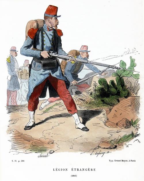 Légion Étrangère 1852