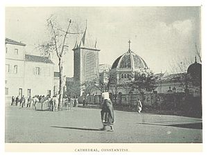 Roman Catholic Diocese of Constantine - The Cathedral in Constantine, 1894