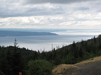 Chaleur Bay - View of Chaleur Bay from Carleton-sur-mer, Quebec