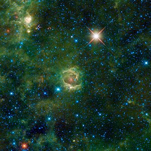 Image of emission nebula LBN 114.55+00.22. In ...