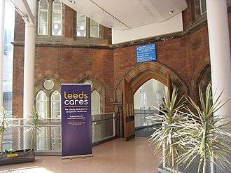 Leeds General Infirmary - Image: LGI interior 26 June 2018