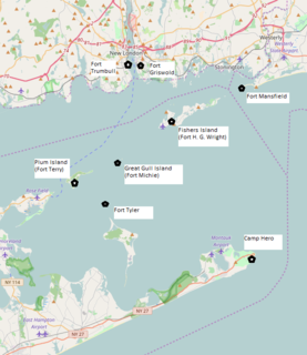 Harbor Defenses of Long Island Sound