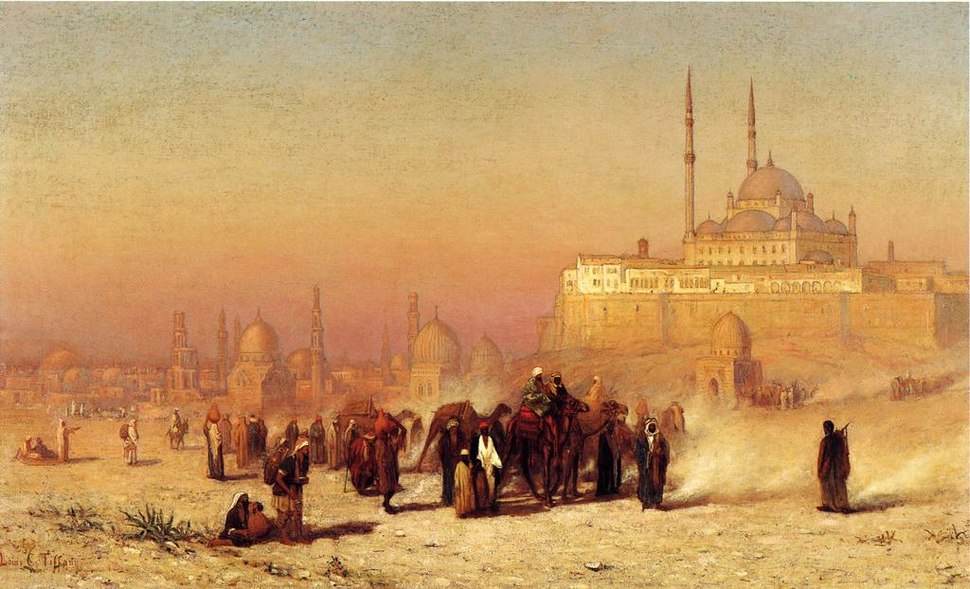 L C Tiffany Cairo Mosque 1872