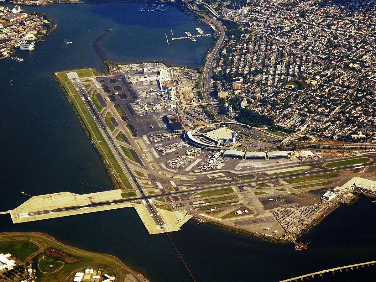 LaGuardia Airport Wikipedia - Laguardia airport map