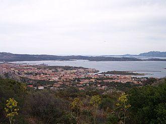 La Maddalena - Image: La Maddalena Panorama 2