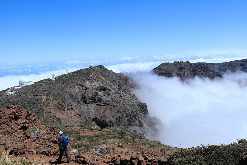 File:La Palma - El Paso - Caldera de Taburiente + Roque de los Muchachos Observatory (Roque de Los Muchachos) 04 ies.jpg