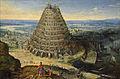 La Tour de Babel, Van Valckenborch, 1594.jpg