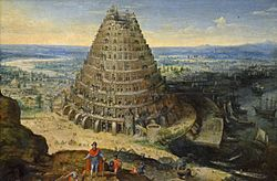Lucas van Valckenborch: The Tower of Babel