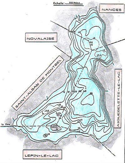 Lac d'Aiguebelette (73) 400px-Lac_aiguebelette_bathym