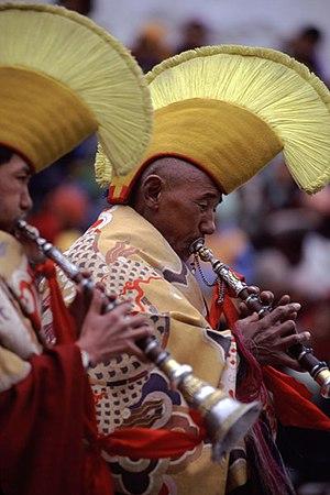 Gyaling - Image: Ladakh Horn Players 0032 tiny