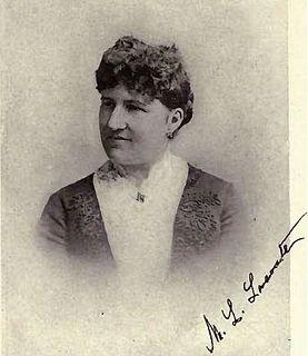 Marie-Louise Lacoste Canadian philanthropist